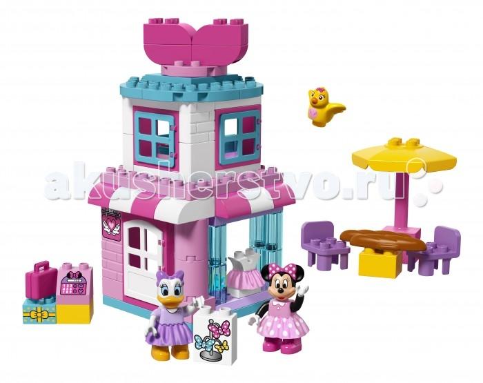 Lego Lego Duplo 10844 Лего Дупло Магазинчик Минни Маус lego duplo 10508 лего дупло большой поезд