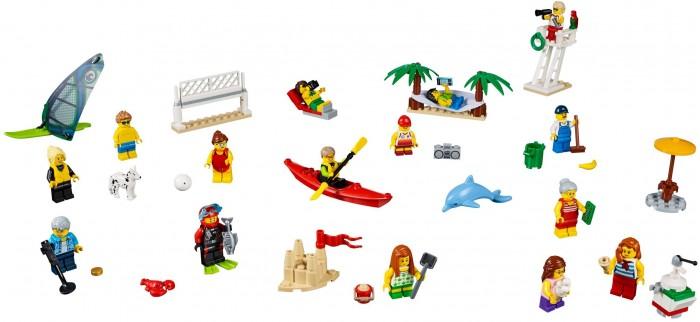 Lego Lego City 60153 Лего Город Отдых на пляже Жители lego city 60153 лего город отдых на пляже жители lego city