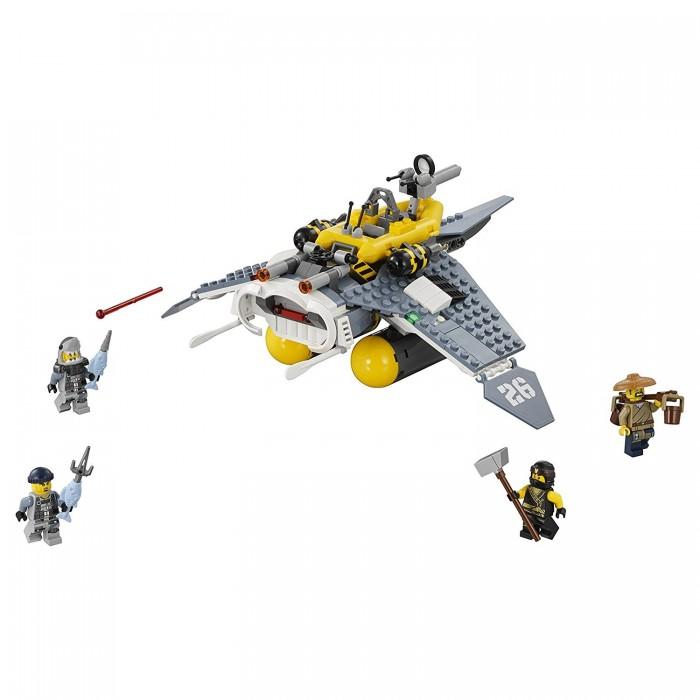 где купить Lego Lego Ninjago 70609 Лего Ниндзяго Бомбардировщик Морской дьявол по лучшей цене