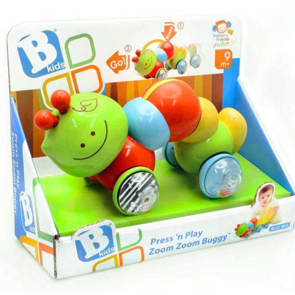 Фото - Развивающие игрушки B kids Инерционная каталка Гусеница развивающие игрушки b kids шар конструктор