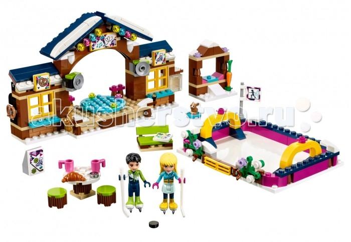 Lego Lego Friends 41322 Лего Подружки Горнолыжный курорт Каток lego friends 41322 лего подружки горнолыжный курорт каток