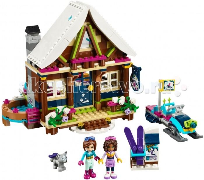 Lego Lego Friends 41323 Лего Подружки Горнолыжный курорт Шал lego friends со сменным элементом