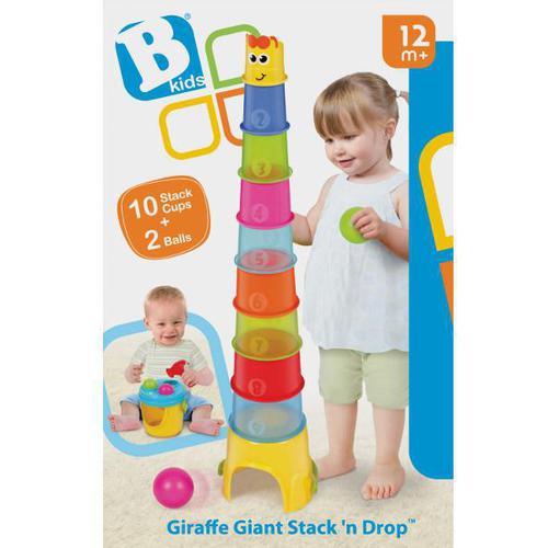Развивающая игрушка B kids Пирамида с шарами