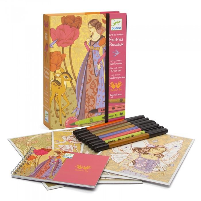 Творчество и хобби , Раскраски Djeco Волшебные легенды арт: 427629 -  Раскраски