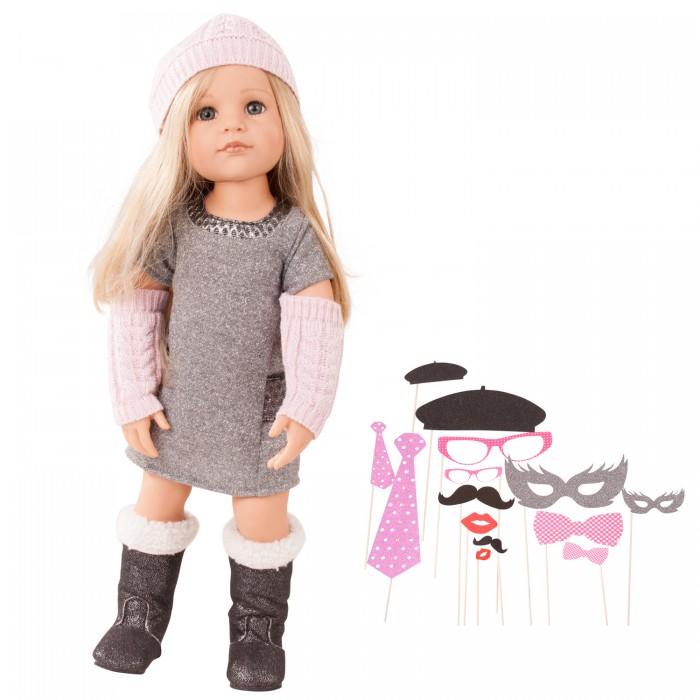 Куклы и одежда для кукол Gotz Кукла Ханна вечеринка гламур 50 см нельс гламур зимний комплект леопард где в омске