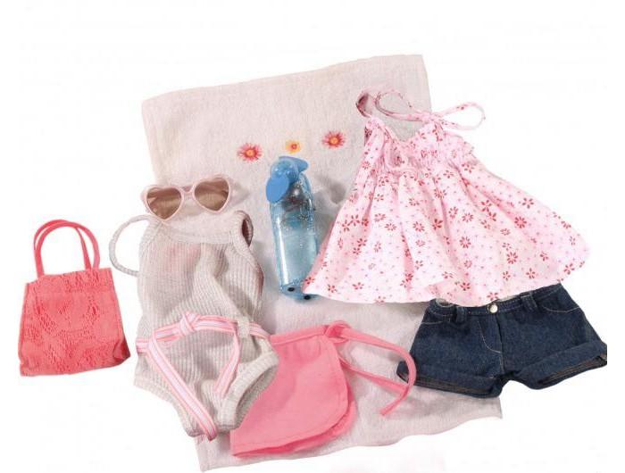 Куклы и одежда для кукол Gotz Набор летней одежды и аксессуаров (10 вещей) куклы и одежда для кукол gotz мини маффин 22 см