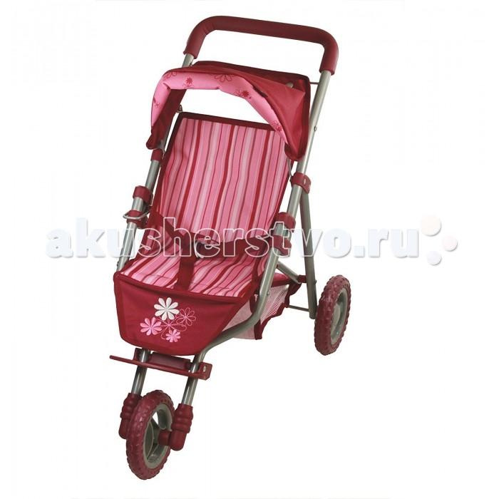 Коляски для кукол Gotz Коляска трехколесная цветы коляска трехколесная senbodulun
