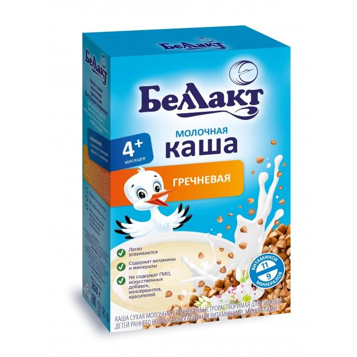 Каши Беллакт Молочная Гречневая каша с 4 мес., 200 г рязанские просторы клетчатка топинамбура 200 г