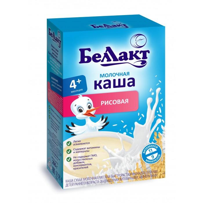 Каши Беллакт Молочная Рисовая каша с 4 мес., 200 г рязанские просторы клетчатка топинамбура 200 г