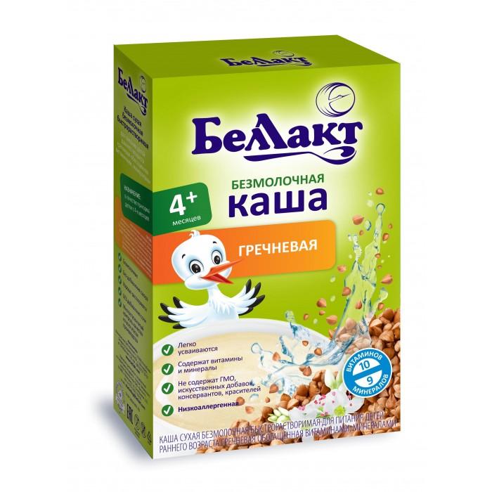 Каши Беллакт Безмолочная Гречневая каша с 4 мес., 200 г витамины