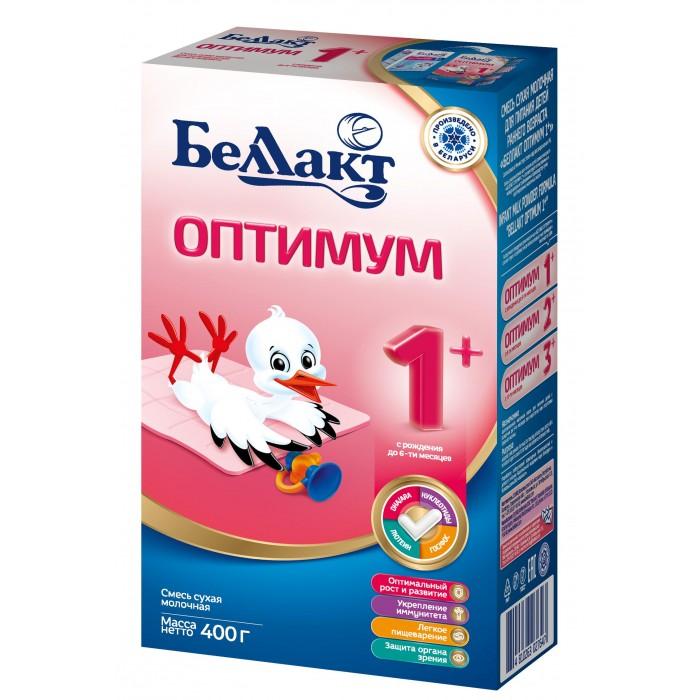 Молочные смеси Беллакт Сухая молочная смесь Оптимум 1+ 400 г молочная смесь semper bifidus 1 с рождения 400 г