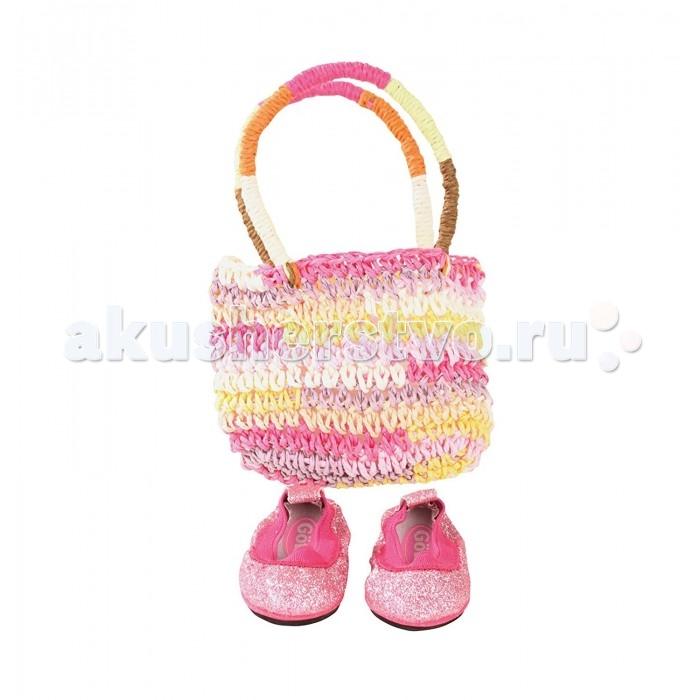 Куклы и одежда для кукол Gotz Набор сумка и обувь одежда обувь и аксессуары