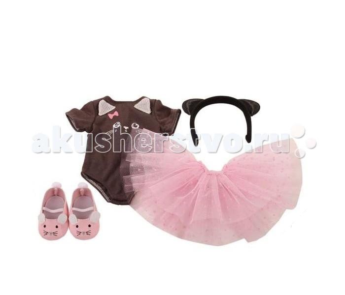 Куклы и одежда для кукол Gotz Набор одежды балерины (5 предметов) куклы и одежда для кукол gotz мини маффин 22 см