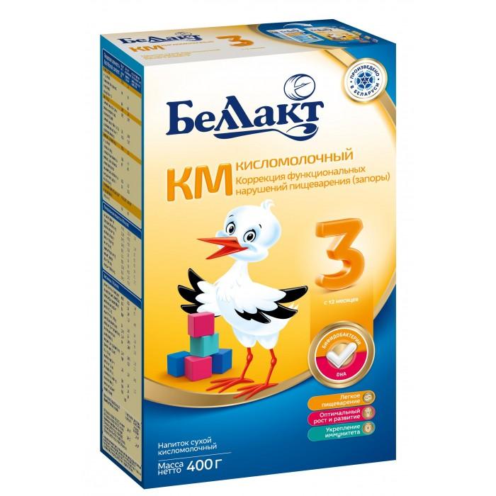Молочные смеси Беллакт Смесь сухая кисломолочная КМ-3 400 г беллакт км 1 смесь кисломолочная сухая с рождения 400 г