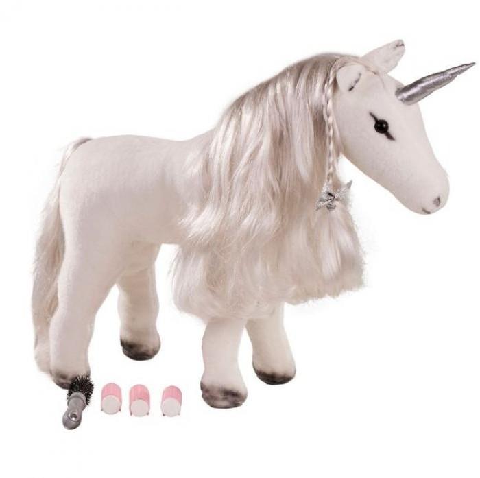 Мягкая игрушка Gotz Белый единорог 50 см