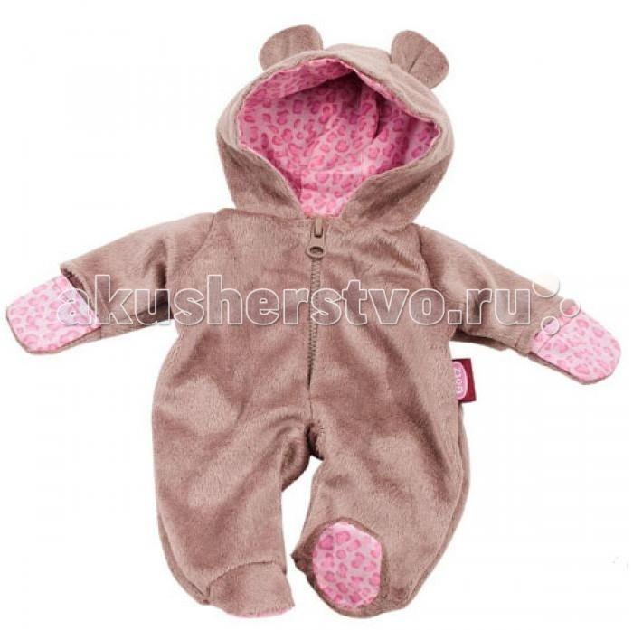 Куклы и одежда для кукол Gotz Костюм медвежонка куклы и одежда для кукол gotz мини маффин 22 см
