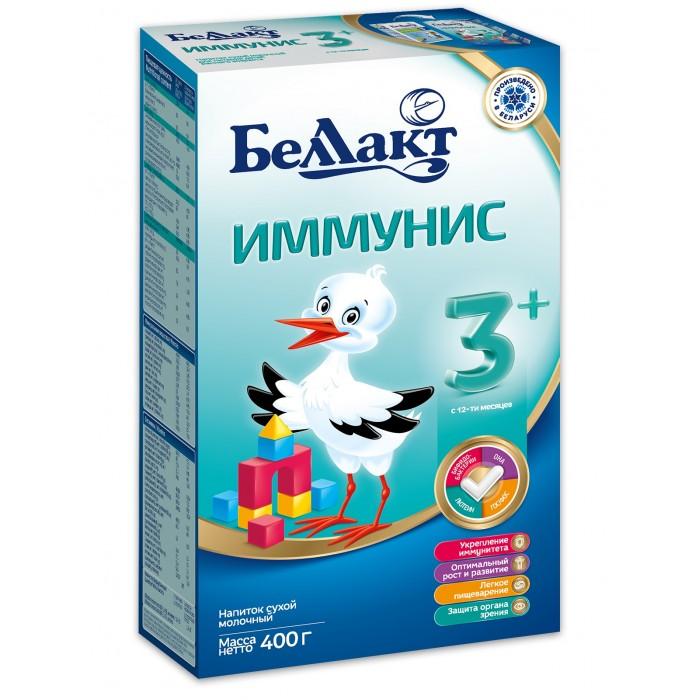 Молочные смеси Беллакт Сухая молочная смесь Иммунис 3+ 400 г чай витапром млечный путь сухая смесь для кормящих женщин 400 г
