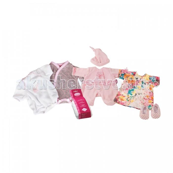 Куклы и одежда для кукол Gotz Набор повседневной одежды (12 предметов) куклы и одежда для кукол gotz мини маффин 22 см