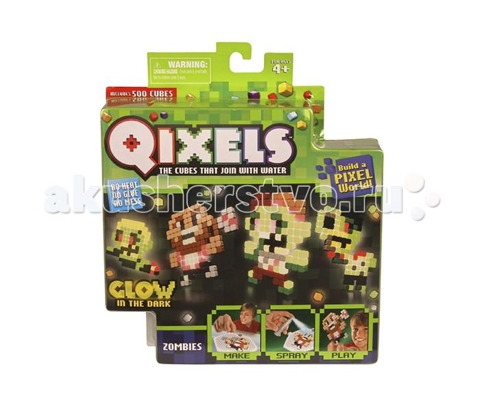 Наборы для творчества Qixels Набор для творчества Зомби набор для творчества qixels зомби светится в темноте