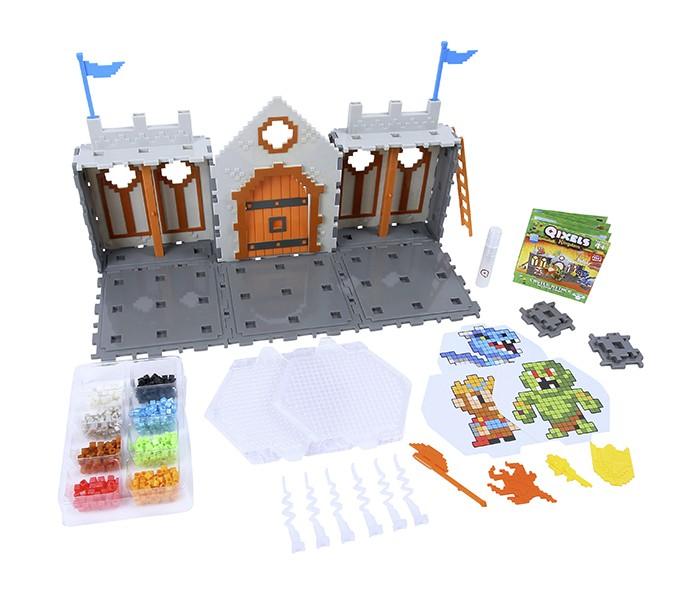 Наборы для творчества Qixels Набор для творчества Королевство Захват замка наборы для творчества eastcolight набор для исследований tele science 35 предметов