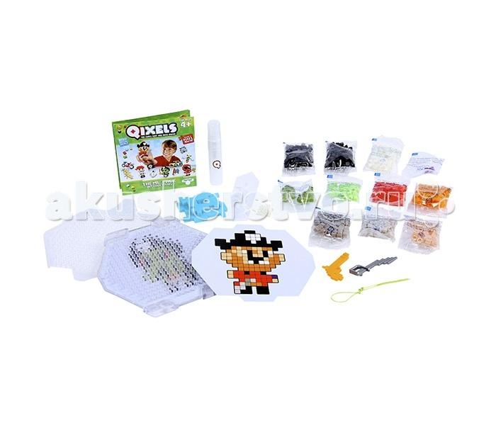 Наборы для творчества Qixels Набор для творчества Пираты дополнительный набор qixels для 3d принтера в ассортименте