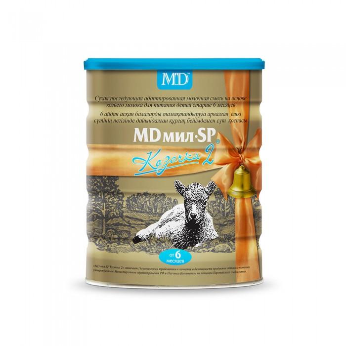 Молочные смеси MD мил Козочка 2 молочная смесь на основе козьего молока 6-12 мес. 800 г, Молочные смеси - артикул:428654