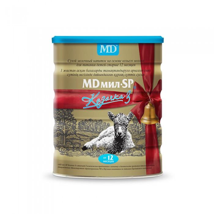 Молочные смеси MD мил Козочка 3 молочная смесь на основе козьего молока с 1 года 800 г молочная смесь md мил sp козочка 1 с рождения 400 г