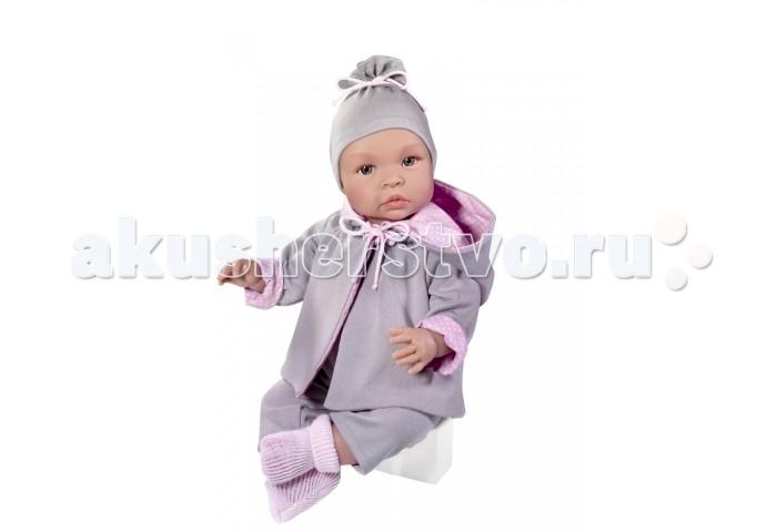 ASI Кукла Лео 46 см 184080Кукла Лео 46 см 184080ASI Кукла Лео 46 см 184080 - этот очаровательный большой реборн выглядит очень натуралистично.   Все складочки детально проработаны, что еще больше напоминает новорожденного малыша.  Девочка Лео одета в костюмчик из теплой двухсторонней кофточки серого и розового цвета,в штанишки и носочки. Голову украшает аккуратная шапочка в тон костюмчика. Голова, руки и ноги выполнены из винила, а тело из ткани со специальным наполнителем. Это позволяет кукле принимать естественные положения.   Все куклы ASI создаются с использованием ручного труда. В каждую куколку мастер вкладывает свою душу! Ваш ребенок сразу почувствует тепло и доброту, которая исходит из этой маленькой игрушки.  Особенности: Пупсик упакован в красивую подарочную коробочку Куклы ASI сделаны очень качественно Без запаха  Используется безопасный твердый винил Видна прорисовка мельчайших подробностей тела, рук и ног.<br>