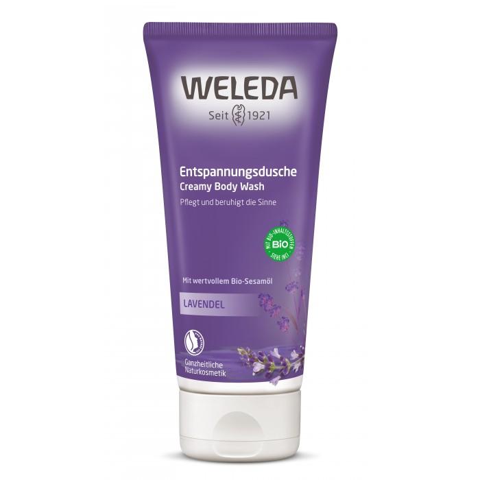 Косметика для мамы Weleda Лавандовый расслабляющий гель для душа 200 мл косметика для мамы weleda масло для волос 50 мл