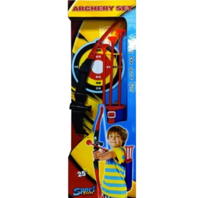 Игрушечное оружие Toy Target Набор Игрушечного оружия Лук и стрелы с колчаном лук и стрелы oem 5 sc 0 b19