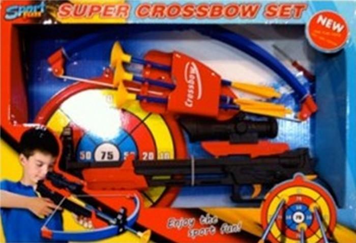 Игрушечное оружие Toy Target Набор игрушечный Арбалет со стрелами