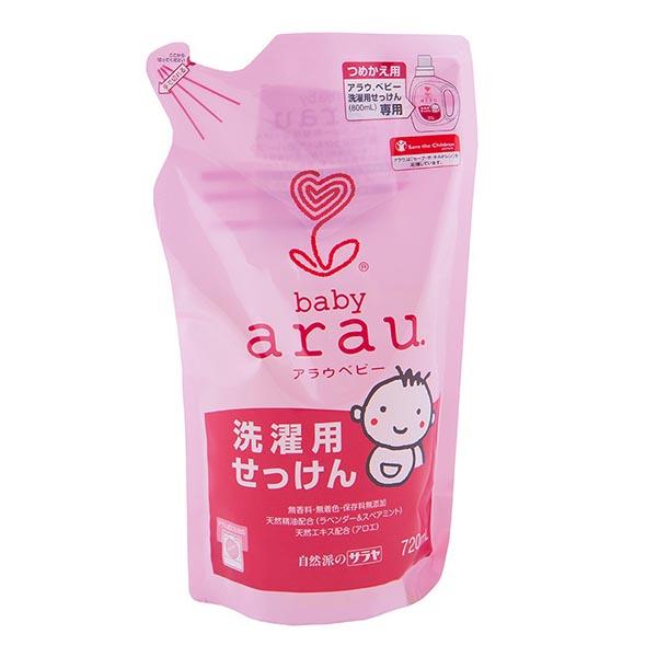 купить Детские моющие средства Saraya Arau Baby Жидкость для стирки детской одежды 720 мл (наполнитель) дешево