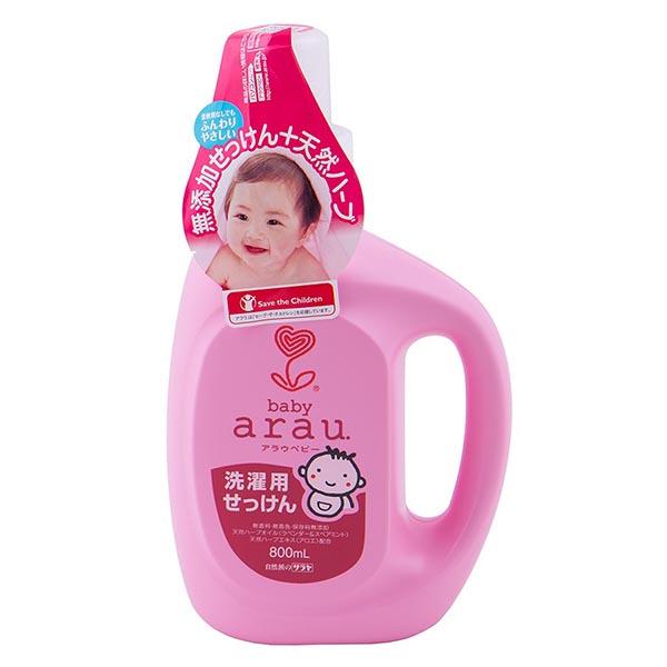 Фото Детские моющие средства Saraya Arau Baby Жидкость для стирки детской одежды 800 мл
