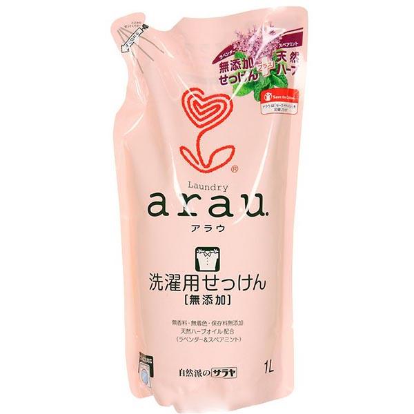 Бытовая химия Saraya Arau Жидкость для стирки на мыльной основе 1000 мл (наполнитель)