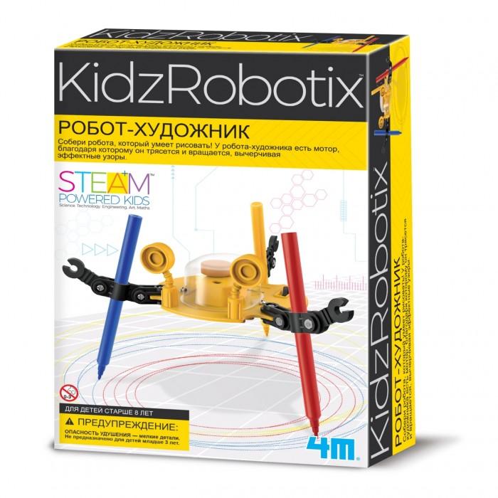 Наборы для творчества 4М Робот художник 00-03280 4м самодельная батарейка