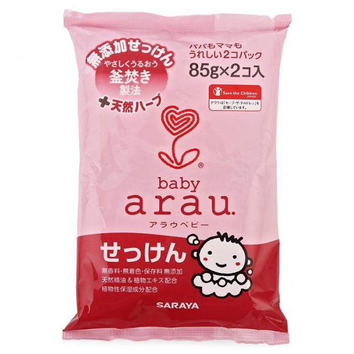 62a16c7b4d89 Косметика для новорожденных Saraya Arau Baby Туалетное мыло для малышей 85  г х 2 шт.