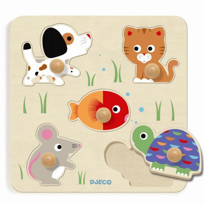 Деревянные игрушки Djeco Рамка-вкладыш Булле urban decay mono тени для век buck