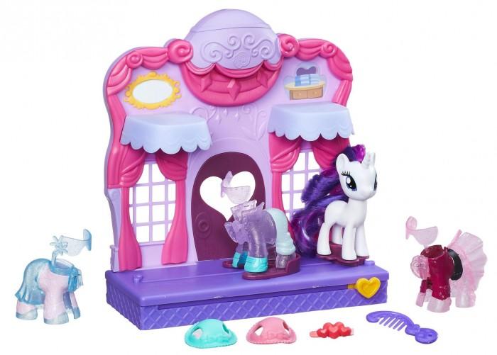 Игровые наборы Май Литл Пони (My Little Pony) Игровой набор Бутик Рарити в Кантерлоте фигурки игрушки my little pony mlp бутик рарити в кантерлоте