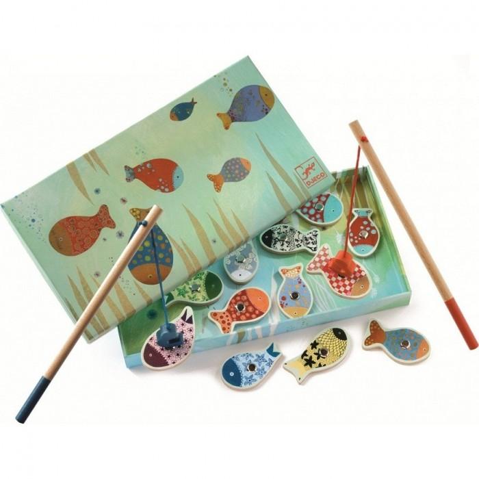 Игры для малышей Djeco Магнитная игра рыбалка Мечты игра жили были… djeco игра жили были…