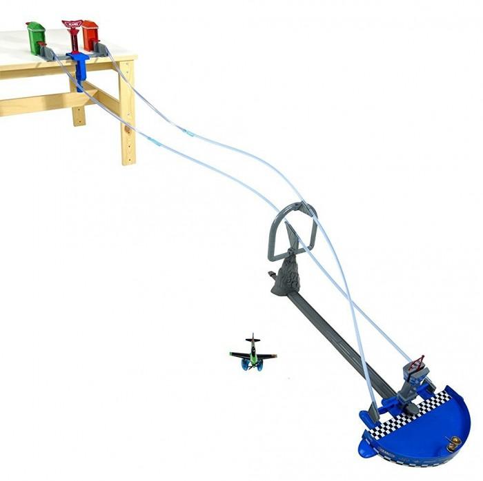 Игровые наборы Mattel Игровой набор Воздушные гонки Planes игровые наборы tomy игровой набор приключения трактора джонни и лошади на ферме