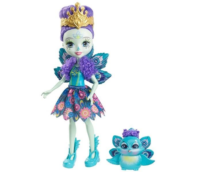 Куклы и одежда для кукол Enchantimals Кукла с любимой зверюшкой enchantimals кукла squirrel dl