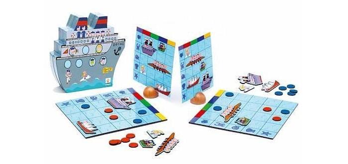 Настольные игры Djeco Настольная игра малая Морской бой настольные игры djeco настольная карточная игра мистикэт