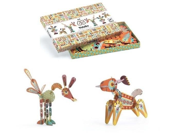 Пазлы Djeco 3D -пазл Животные djeco пазл для малышей лесные животные