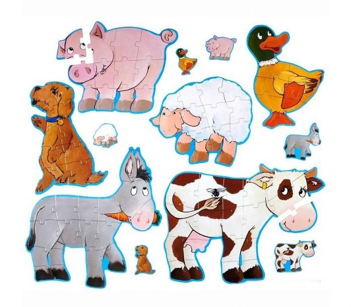 Пазлы Djeco Головоломка - пазл Дези и друзья деревянные игрушки djeco головоломка пазл лило