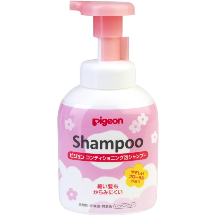 Косметика для новорожденных Pigeon Шампунь-пенка для детей 18+ мес. 350 мл pigeon шампунь пенка для младенцев 350 мл pigeon