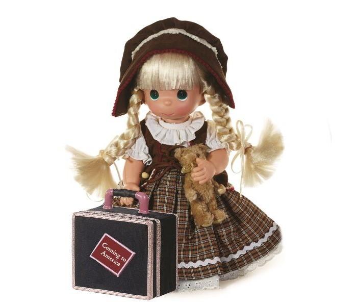 Куклы и одежда для кукол Precious Кукла Путешественница блондинка 30 см куклы gulliver кукла дынька 30см