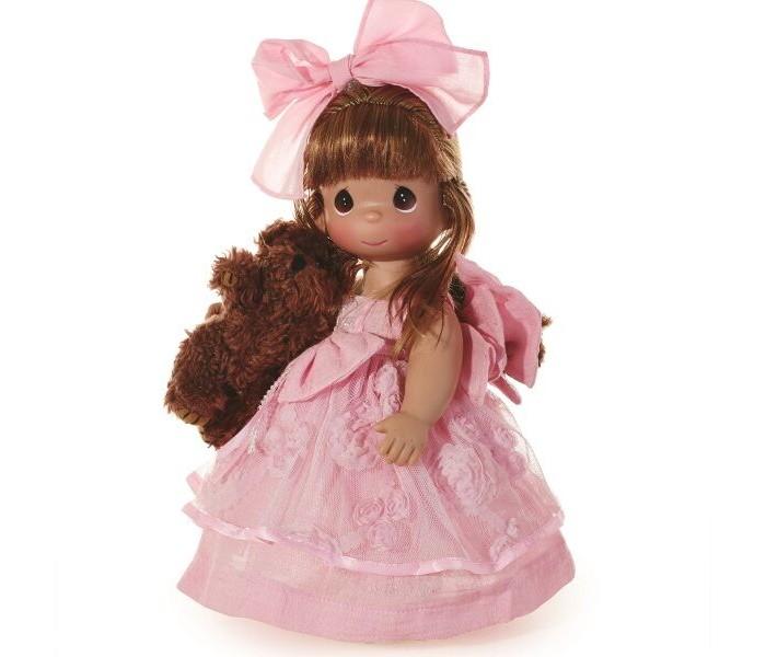 Куклы и одежда для кукол Precious Кукла Сны о плюшевом медведе рыжая 30 см куклы gulliver кукла дынька 30см