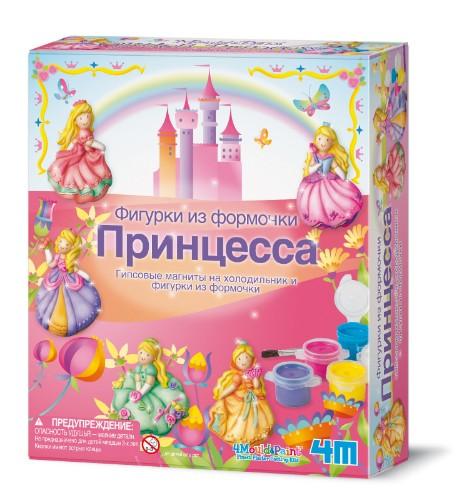 Наборы для творчества 4М Фигурки из формочки Принцесса 00-03528 творчество 4m фигурки из формочки принцесса 00 03528