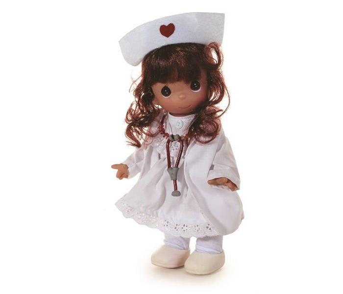 Куклы и одежда для кукол Precious Кукла Медсестра брюнетка 21 см куклы и одежда для кукол precious кукла босоногая брюнетка 30 см