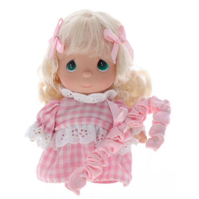 Куклы и одежда для кукол Precious Кукла Пастушка в розовом 14 см precious moments мини кукла пастушка цвет платья светло коралловый